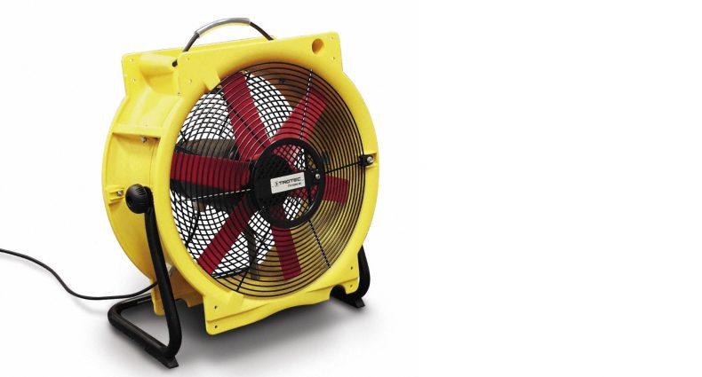 Axialventilator Ventilator Bautrocknung beschleunigen Duregger Bautrockner mieten München